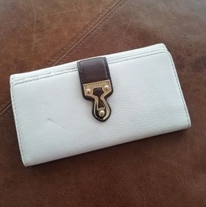 Michael Korrs Trifold Leather Wallet